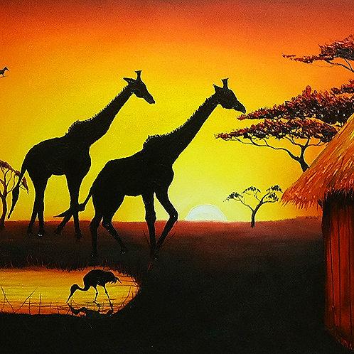 Serengeti At Sunset #35