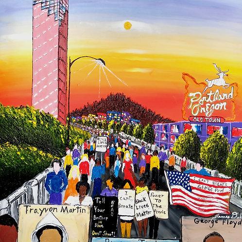 """The Movement""  (Digital Print)"