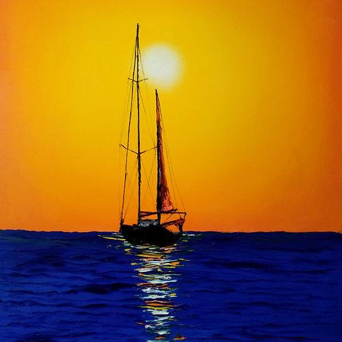 Orange Sunset Sails #5