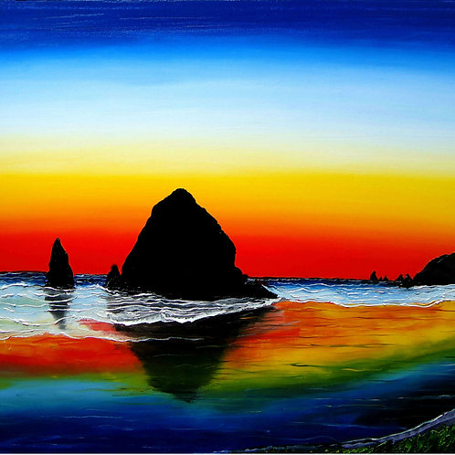 Cannon Beach At Sunset #26