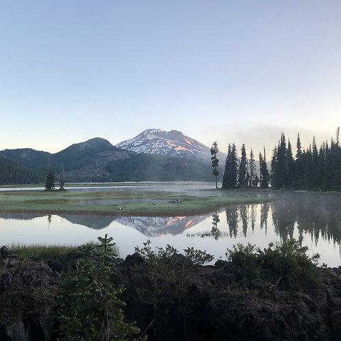 Sparks Lake At Sunrise 30x50