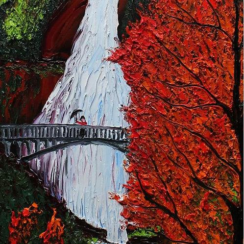 Autumn Of Multnomah Falls #4