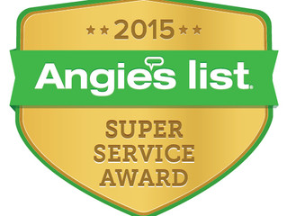 Another Angie's List Super Service Award