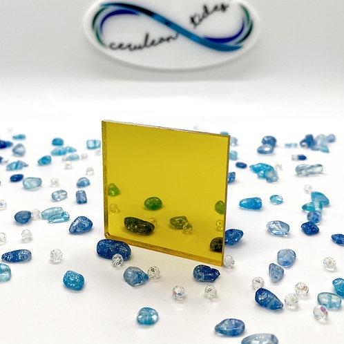 Yellow Mirror Acrylic