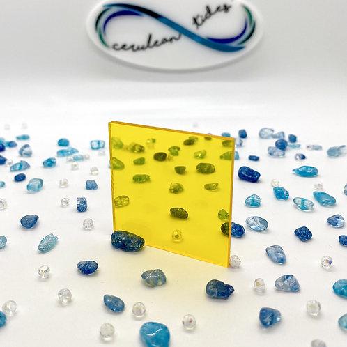 Transparent Yellow Acrylic (25-T)