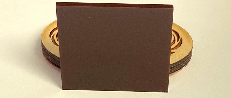 Opaque Brown Acrylic (14-O)