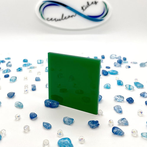 "Translucent Green ""A"" Acrylic (7-L)"