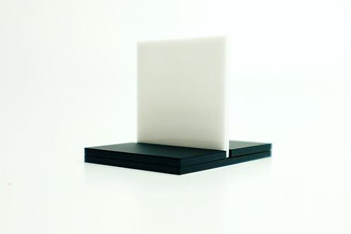 "Translucent (""Opaque"") White Acrylic (23-L)"