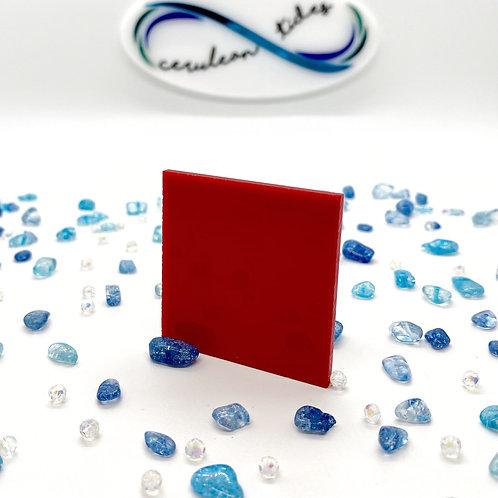 "Translucent Red ""B"" Acrylic (18-L)"