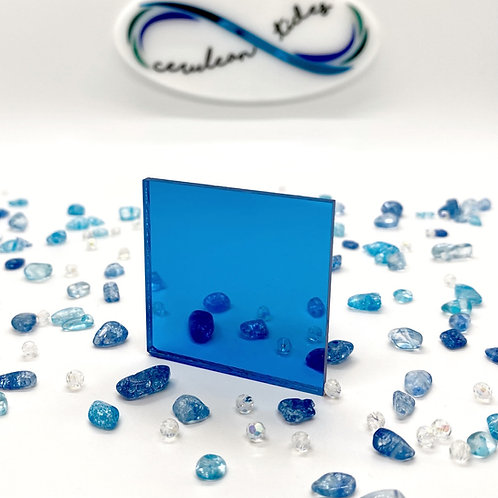 Turquoise Mirror Acrylic