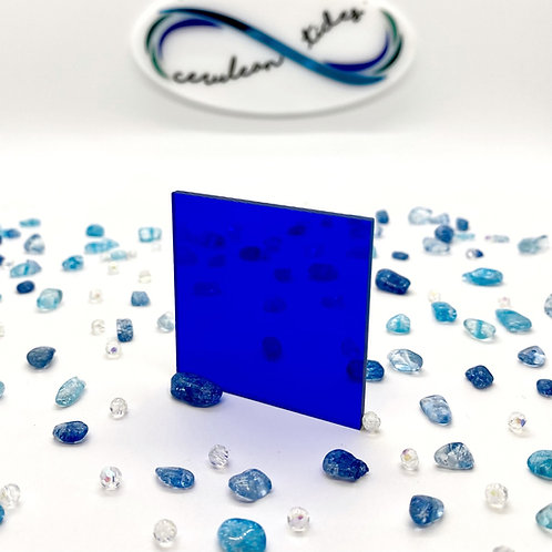 Transparent Deep Blue Acrylic (2-T)