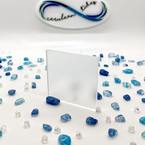 Frosted Clear Acrylic (0-MT)
