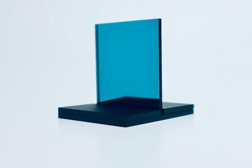Teal Mirror Acrylic