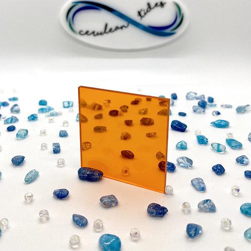 Transparent Orange Acrylic (15-T)