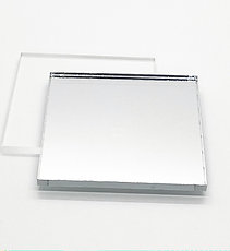 Two Sided Silver Mirror
