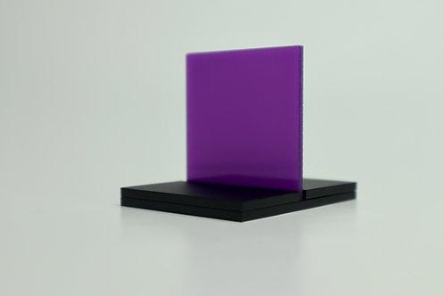 Translucent Purple Acrylic (22-L)