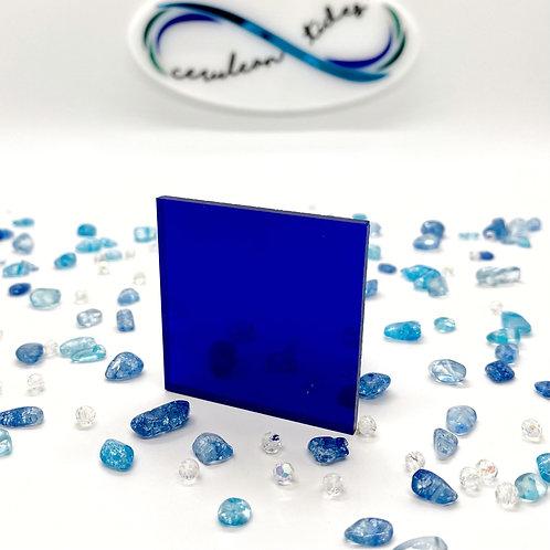 Blue Mirror Acrylic
