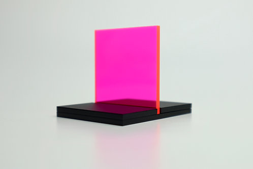 Fluorescent Red/Hot Pink Acrylic (18-F)