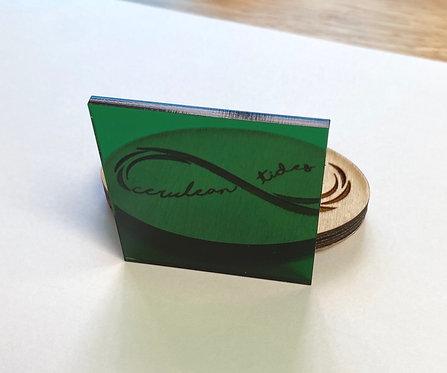 Transparent Green Acrylic (7-T)