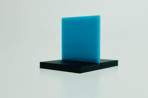 Translucent Turquoise Acrylic (2-AL)