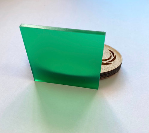 Frosted Emerald Acrylic