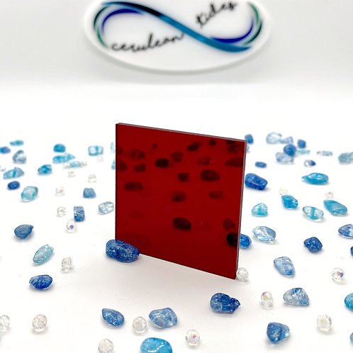 Transparent Deep Red Acrylic (18-T)
