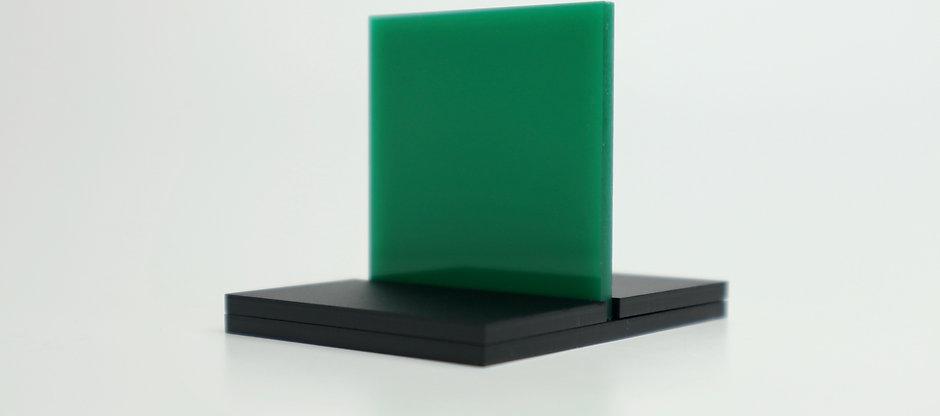 "Translucent Green ""B"" Acrylic (7-L)"