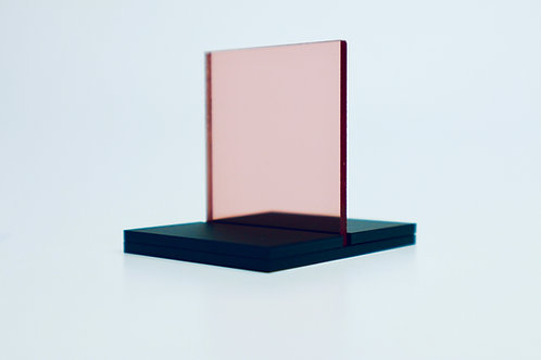 Rose Gold Mirror Acrylic