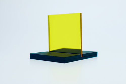 Yellow Mirror Acrylic