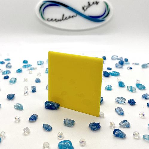 Translucent Yellow Acrylic (25-L)