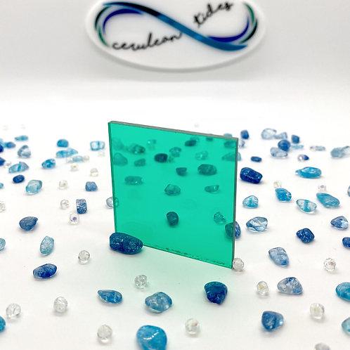 Transparent Mint Acrylic (M-T)