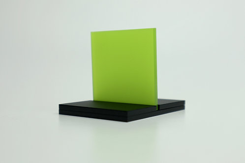 Frosted Lime Acrylic