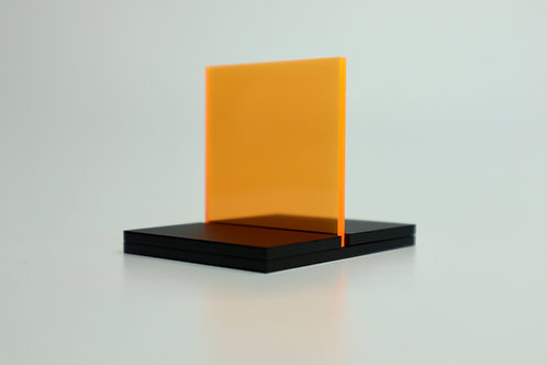 Fluorescent Orange Acrylic (15-F)