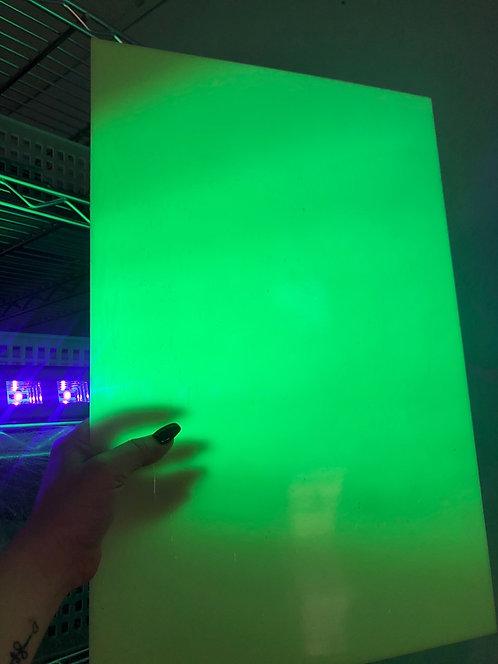 Glow in the Dark Acrylic