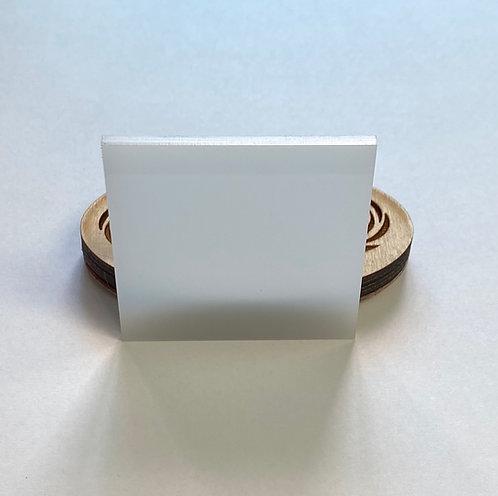 "Translucent ""Milky"" White Acrylic (235-L)"