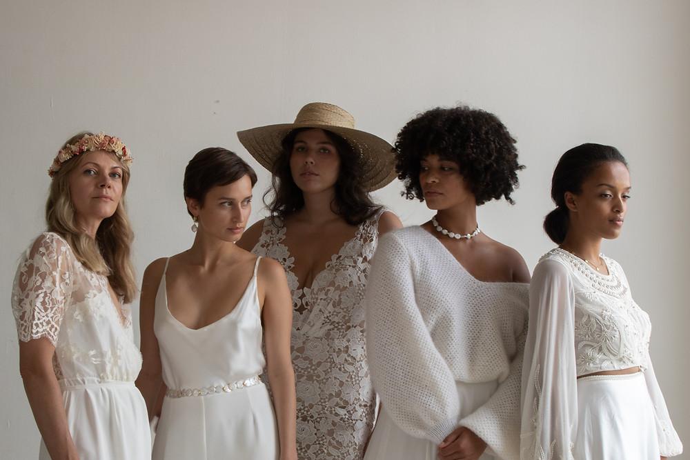 Von modern, schlicht und elegant bis boho! Bei uns findet ihr das passende Brautkleid.