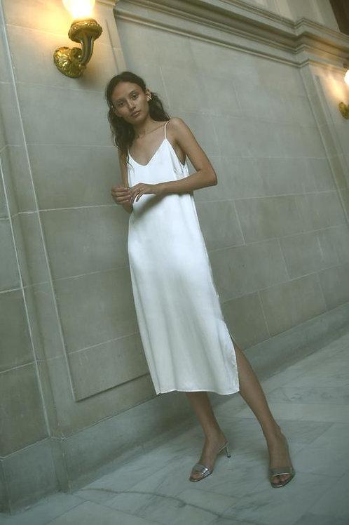 Kamperett | Sade Silk Slip Dress