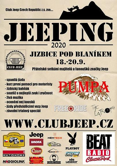 Plakát Jeeping 2020