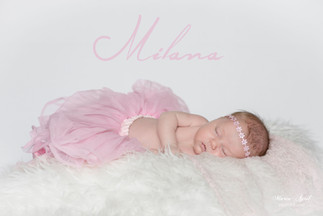 {Newborn Session} Milana