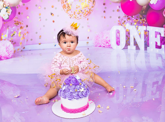Smash the cake - 1 aninho