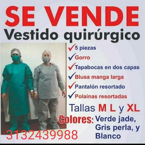 Vestido quirúrgico