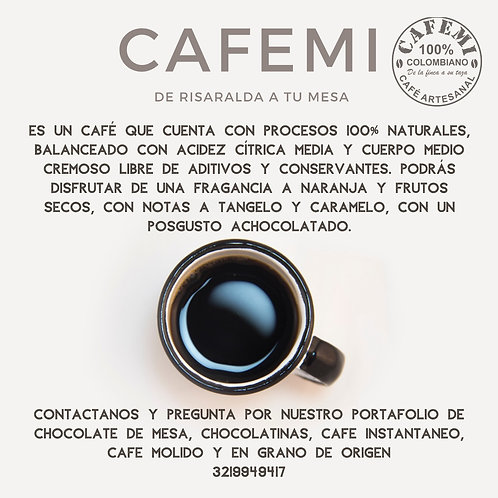 Café de origen Cafemi