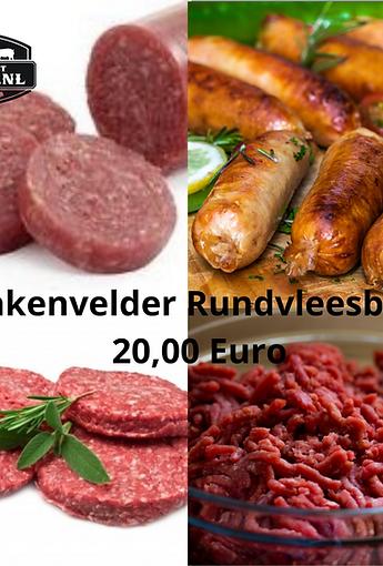 Vleesbox gevuld met Lakenvelder rundvlees