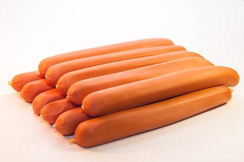 Ambachtelijk geproduceerde Hotdogs