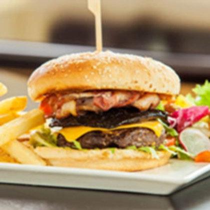USA grain fed prime beef burger 100 gram