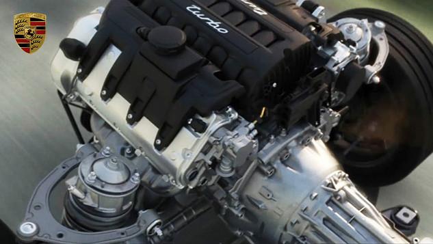 Porsche Turbo Fahrwerk
