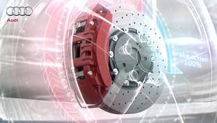Automobil Technik Bremssystem Audi
