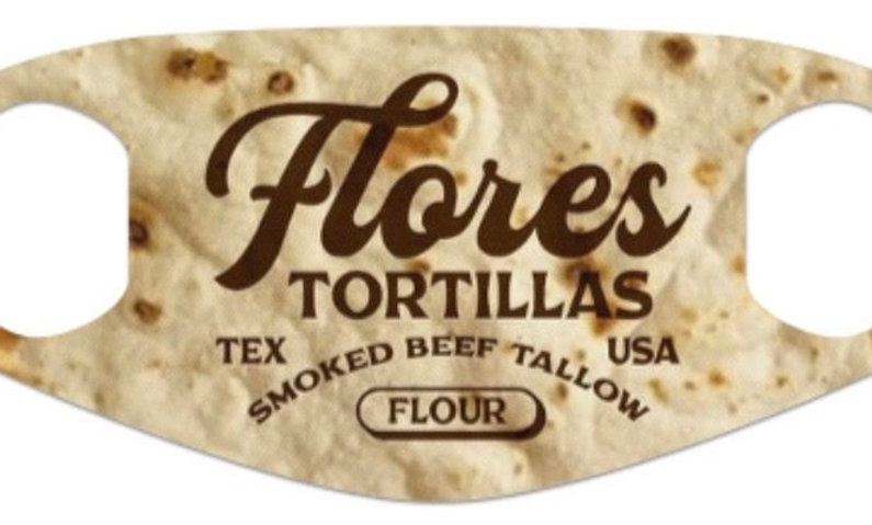 Flores Tortillas Mask