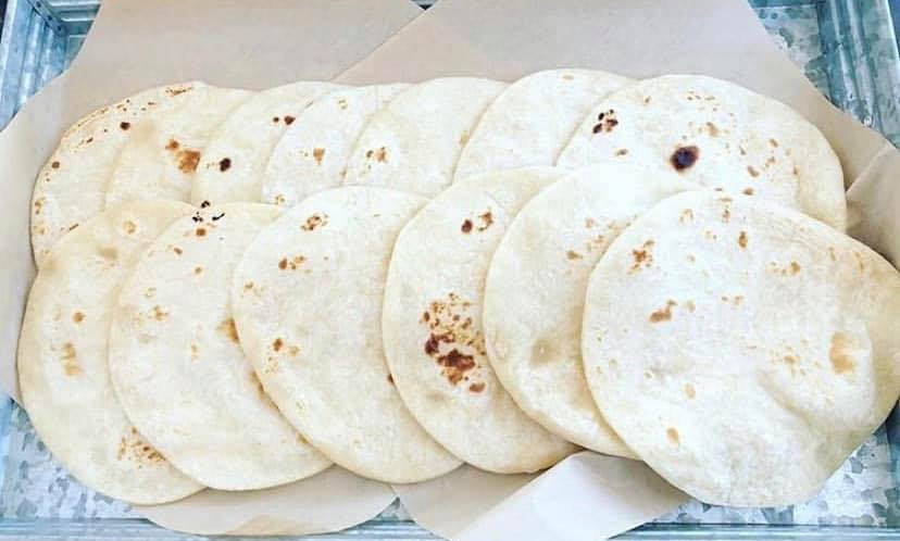 Smoked Beef Fat Flour Tortillas 12PK