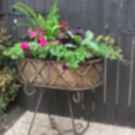 Seasonal Container Gardening for Business in McKinney